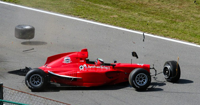 Inovação - falhar rápido - metáfora F1