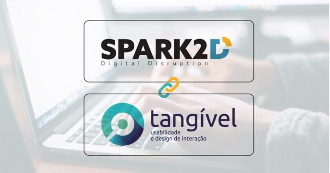 logos spark2d tangível - transformação digital user experience