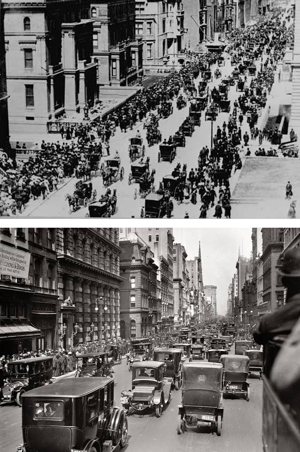 automóveis em NY 1900 1903